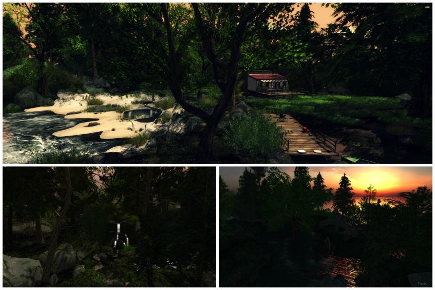 Secret Woods Collage