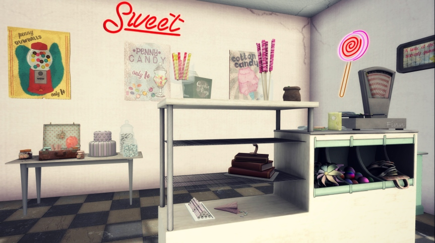 Sweet Shoppe Detail #1