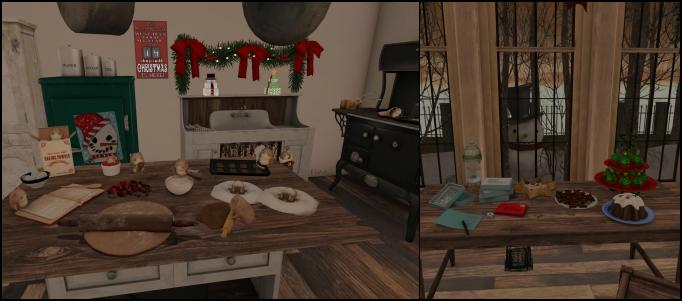 Christmas Kitchen - Details