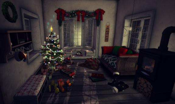 Santa's Naptime Nook