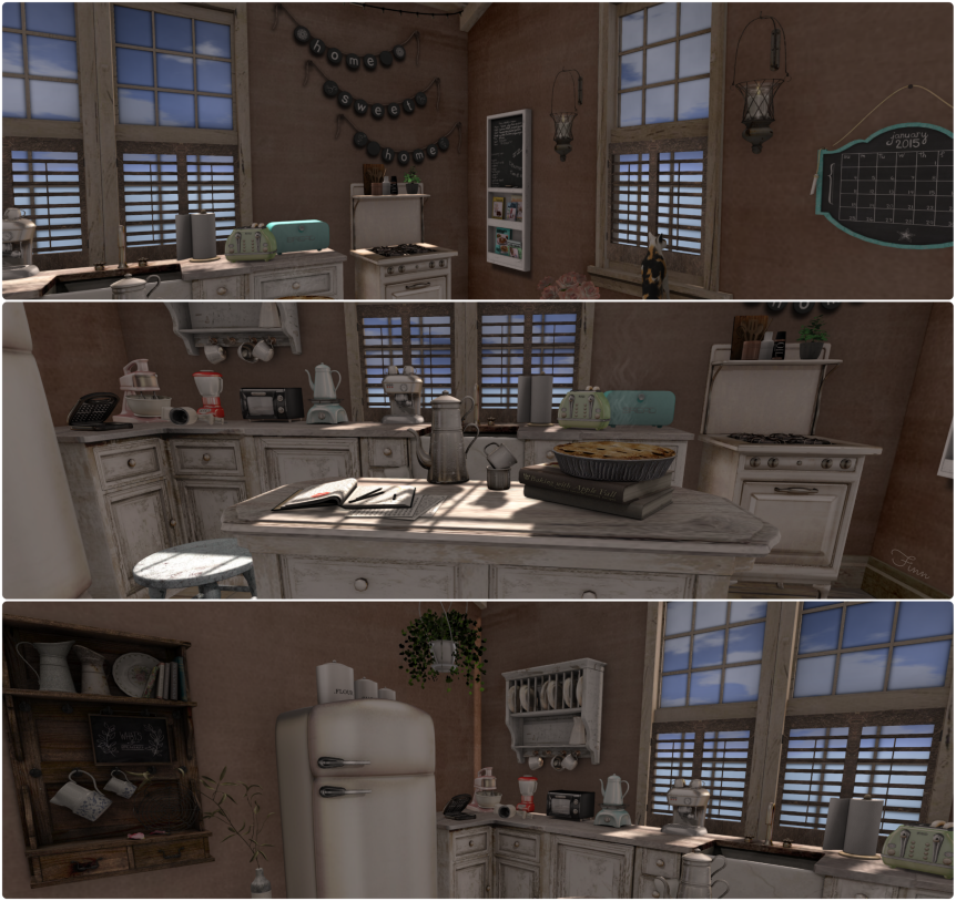 Finn's Kitchen Collage